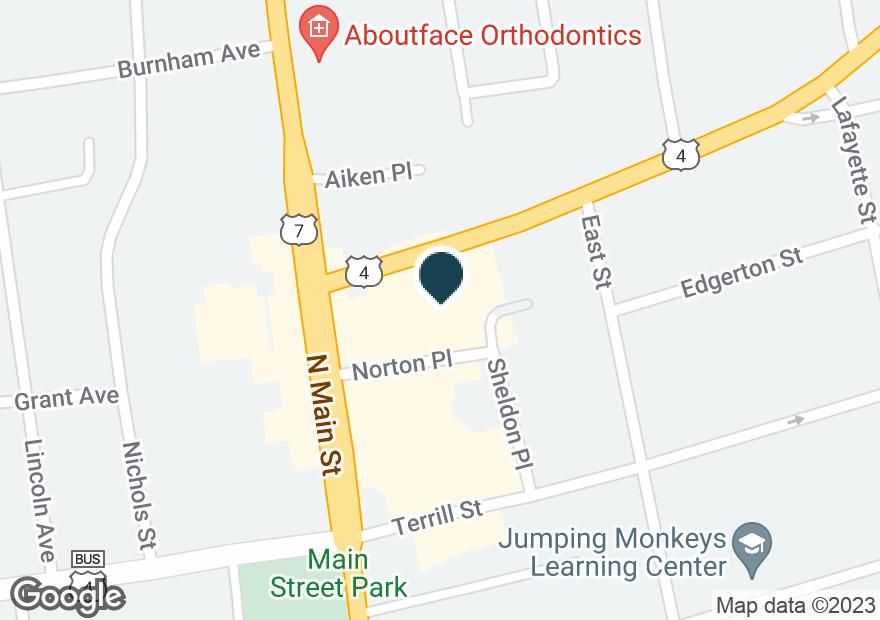 Google Map of10 WOODSTOCK AVE