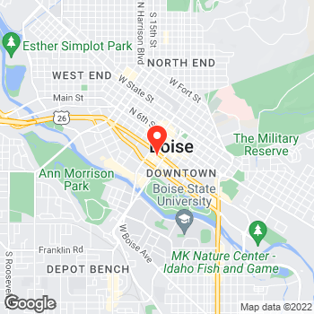 Map of LOFT at 370 South 8th Street, Boise, ID 83702