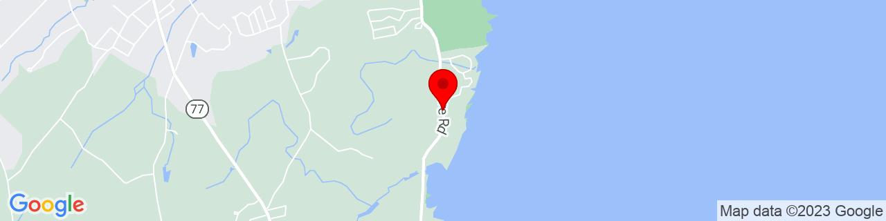 Google Map of 43.6147292, -70.21398769999999