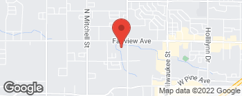 Mapa de 9101 W Fairview Ave en Boise