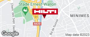 Espace Hilti - La Plateforme du Bâtiment - Toulouse (Chemin du sang de Serp)