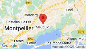 Carte de localisation du centre de contrôle technique MAUGUIO