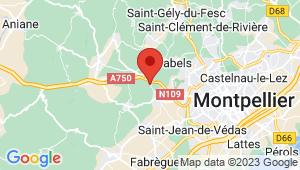 Carte de localisation du centre de contrôle technique SAINT GEORGES D ORQUES
