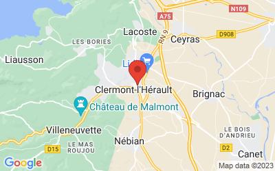 2 allée roger salengro, 34800 Clermont-l'Hérault