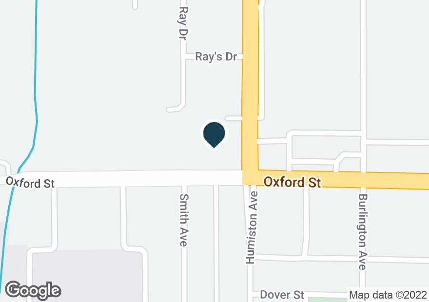 Google Map of1321 OXFORD ST