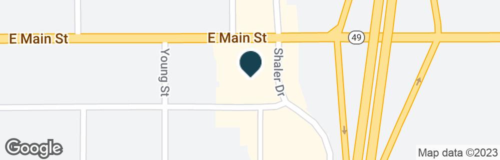 Google Map of999 E MAIN ST