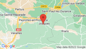 Map of Jouques