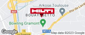 Espace Hilti - La Plateforme du Bâtiment - Toulouse (ZI de Gramont)