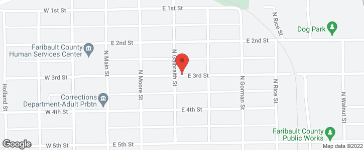 321 E 3rd Street Blue Earth MN 56013
