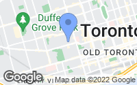 Map of Old Toronto, ON