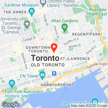 Map of Ann Taylor - Temporarily Closed at 220 Yonge Street, Toronto, ON M5B2H1