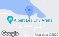 Map of Albert Lea, MN