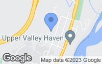 Map of Hartford, VT