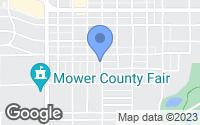 Map of Austin, MN
