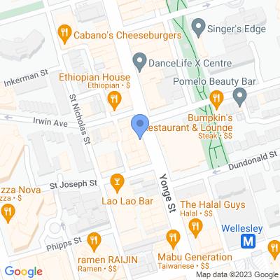 Cash Shop - Yonge St Map