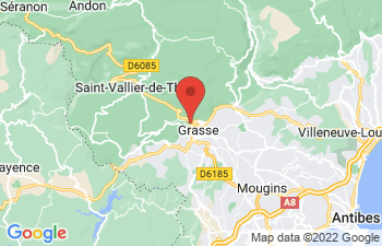 Map of Grasse