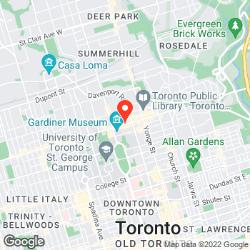 Map of Cole Haan at 101 Bloor Street West, Toronto, ON M5S2Z7