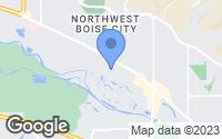 Map of Garden City, ID