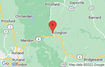 Map of Killington