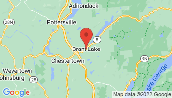 Map of Brant Lake