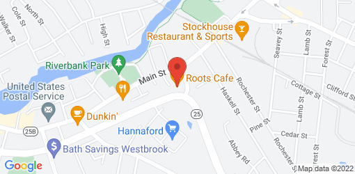 Directions to Roots Cafe
