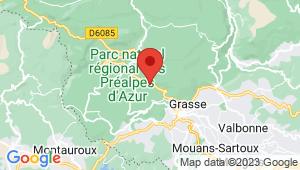 Carte de localisation du centre de contrôle technique SAINT VALLIER DE THIEY
