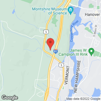 Map of BAYADA Home Health at 205 Billings Farm Road, White River Junction, VT 05001