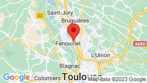 Carte de localisation du centre de contrôle technique SAINT ALBAN