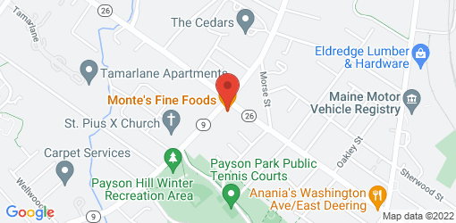 Directions to Monte's Fine Foods