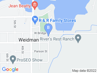 Map of Loving Family Pet Care Dog Boarding options in Weidman | Boarding