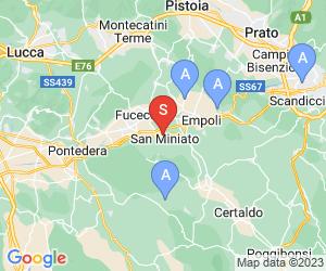 Karte für Golf Club Fontevivo