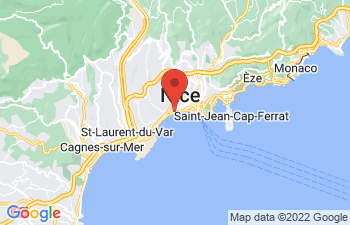 Map of Nice