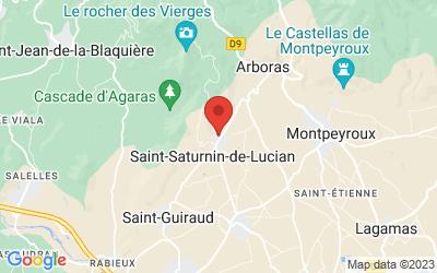 Place de la Fontaine, 34725 Saint-Saturnin-de-Lucian, France