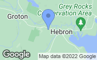 Map of Hebron, NH