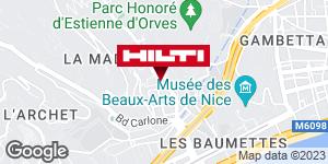 Espace Hilti - La Plateforme du Bâtiment - Nice (bd Ariane)