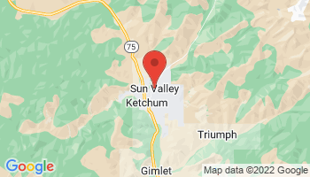 Map of Sun Valley