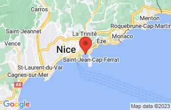 Map of Villefranche-Sur-Mer