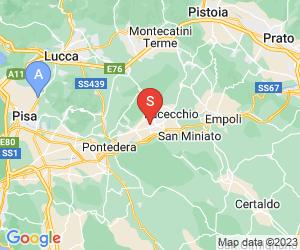 Karte für Piscina Comunale Castelfranco di Sotto