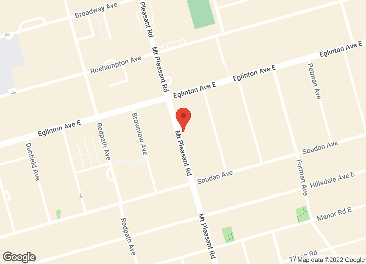 Google Map of Mt. Pleasant - Davisville Animal Hospital