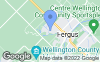 Map of Fergus, ON