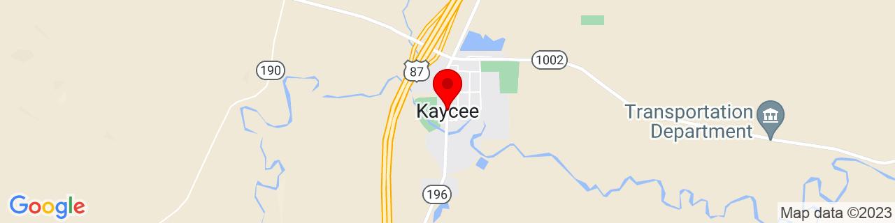 Google Map of 43.7102499, -106.6389338