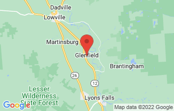 Map of Glenfield