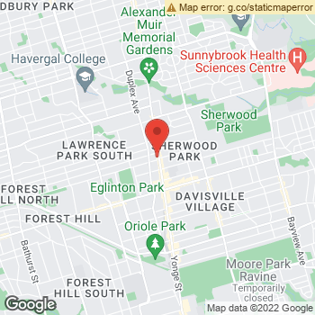 Map of Dr. Elmalem & Associates at 2466 Yonge St, North York, ON M4P 2H5
