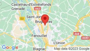 Carte de localisation du centre de contrôle technique Gratentour