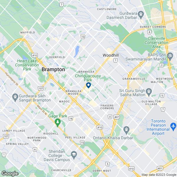 Brampton Canada Map.Bell Brampton On L6t3r5 Bell Stores