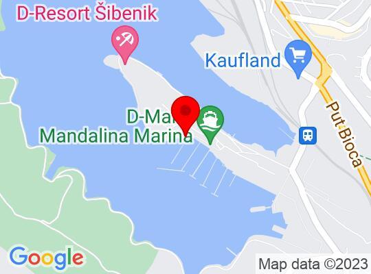Google Map of Sibenik