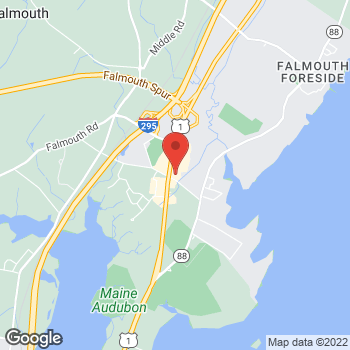 Map of Rite Aid at 33 Depot Road, Falmouth, ME 04105