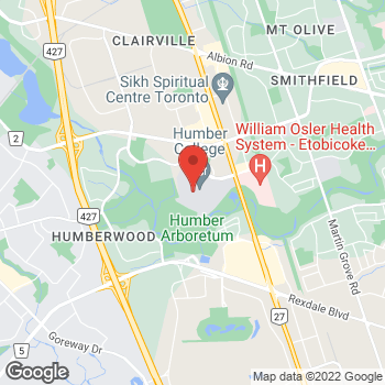 Map of Tim Hortons at 205 Humber College Blvd, Toronto, ON M9W 5L7