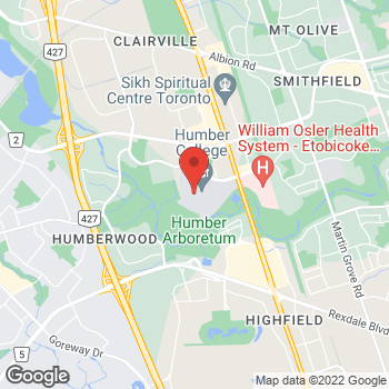 Map of Tim Hortons - Temporarily Closed at 205 Humber College Blvd Hwy 27, Etobicoke, ON M9W 5L7
