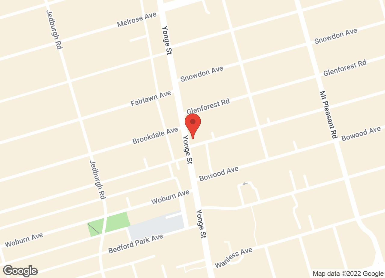 Google Map of Secord Animal Hospital
